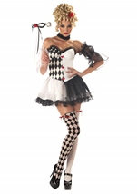 Le Belle Harlequin Woman Costume