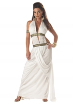 Adult Spartan Queen Women Historical Costume