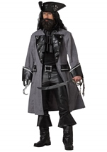 Blackbeard  Pirate Men Costume