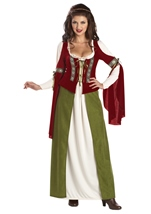 Maid Marian Womens Historical Costume