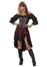 Pirate Wench Women Pirate Sexy Corset Halloween Costume
