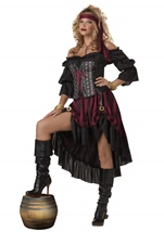 Adult Pirate Wench Women Costume