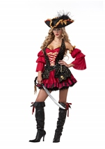 Spanish Pirate Woman Costume