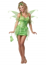 Tinkerbell Fairy Woman Costume