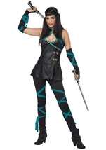 Ninja Woman Warrior Costume