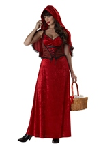 Miss Red Woman Costume