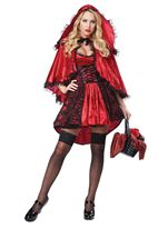 Red Riding Hood Woman Deluxe Costume