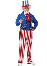 Uncle Sam Men Patriotic Costume