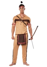 Adult Native American Brave Men Costume