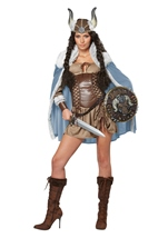 Viking Vixen Woman Costume
