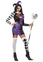 Naughty Jester Women Halloween Costume