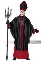 Black Mass Men Costume