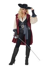 Lady Musketeer Woman Costume