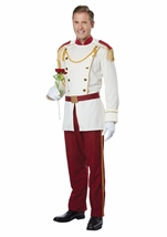 Royal Storybook Prince Men Costume