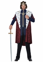 Royal Storybook King Men Costume