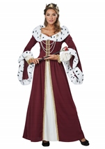 Royal Story Book Queen  Woman Costume