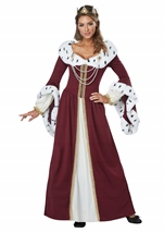 Adult Royal Story Book Queen  Woman Costume