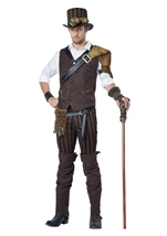 Steampunk Adventurer Deluxe Men Costume