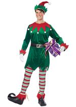 Christmas Elf Unisex Adult Costume
