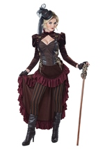 Victorian Steampunk Woman Deluxe Costume