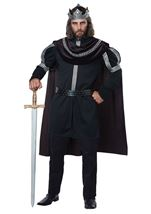 Dark Monarch King Men Renaissance Costume