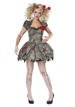 Voodoo Dolly Woman Costume