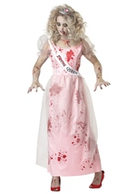 Prom Zombie Woman Costume