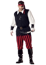 Cutthroat Pirate Men Plus Size Costume