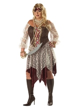 Plus South Seas Siren Women Costume