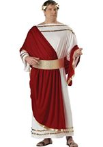 Caesar Men Plus Size Costume