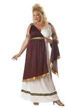 Plus Roman Empress Women Costume