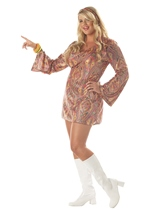 Plus Disco Dolly Women Costume