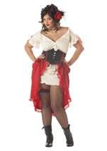 Plus Cantina Gal Women Costume