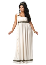 Plus Olympic Goddess Women Costume