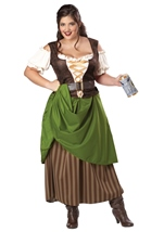 Plus Tavern Maiden Women Costume