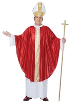 The Pope Men Plus Size Costume