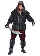 Ruthless Rogue Men Plus Size Costume