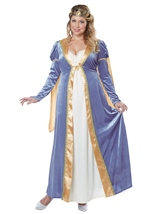 Plus Elegant Empress Women Costume