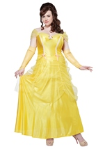 Princess Beauty Women Belle Plus Costume