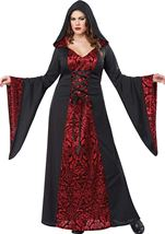 Gothic Robe Woman Plus Costume