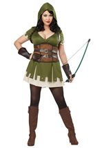 Lady Robin Hood Woman Plus Costume