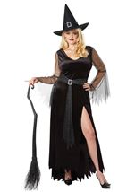 Rich Witch Woman Plus Costume
