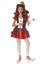 Queen Of Hearts Tween Girls Costume