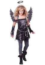 Spooky Angel Tween Girl Costume