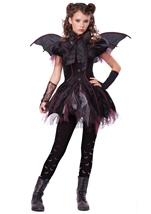 Victorian Vampiress Tween Girl Costume