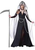 Lady Reaper Women Halloween Costume