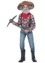 Kids Prospector Kit Boys Costume