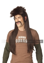 Mississippi Mudflap Wig And Moustache