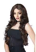 Celebrity Glam Woman Black Wig