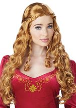 Lady Guinevere Ginger Woman Wig